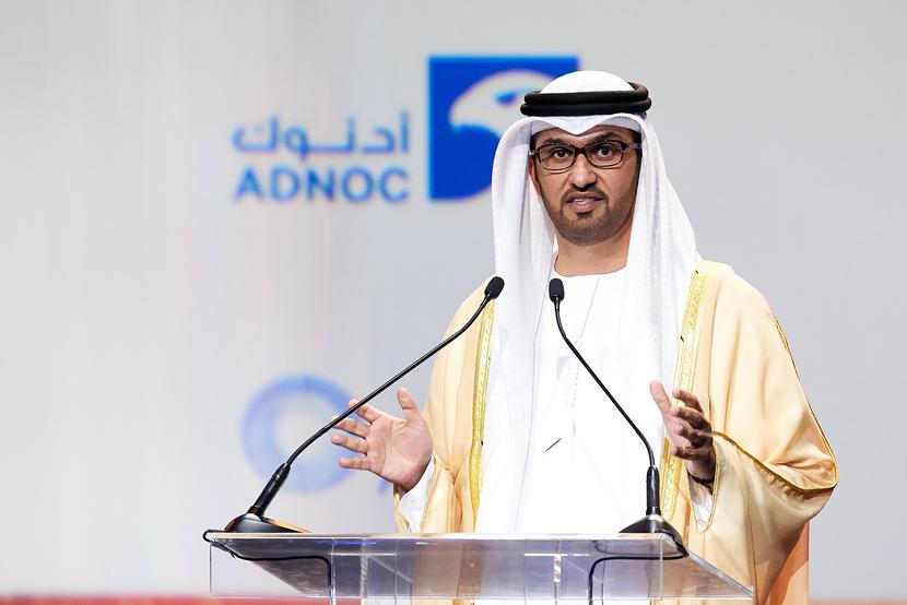 ADNOC, Sultan al jaber, EIA, IEA, OPEC, ExxonMobil