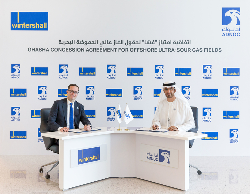 Wintershall is the first German oil and gas company to join an ADNOC concession