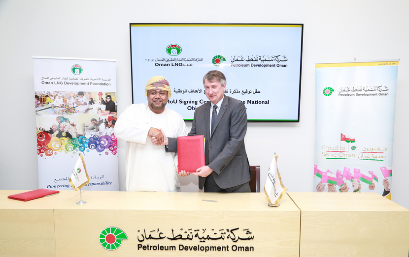 PDO and Oman LNG signed two MoUs pertaining to localisation initiatives in the country