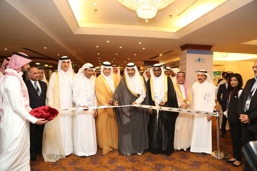 His Excellency Shaikh Mohamed bin Khalifa Al Khalifa, Minister of Oil, Kingdom of Bahrain inaugurates the last edition of the Ethylene Technology Conference. Ziad Al-Labban, Former CEO of Sadara Chemical Company and Fuad Musa, VP – Local Content of Sabic in attendance.