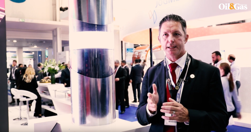 Dean Well, president of well construction for Weatherford, at ADIPEC 2018