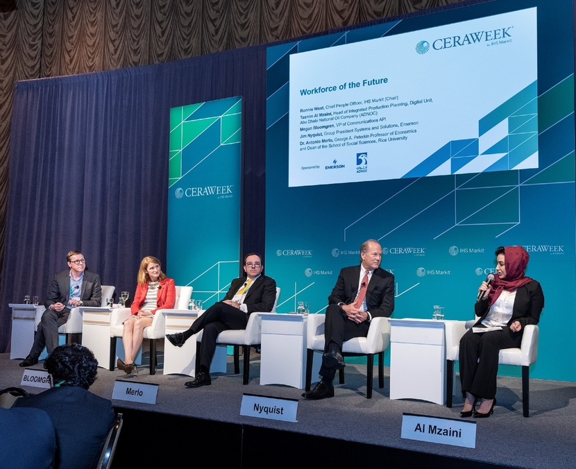 The survey results were revealed at CERAweek