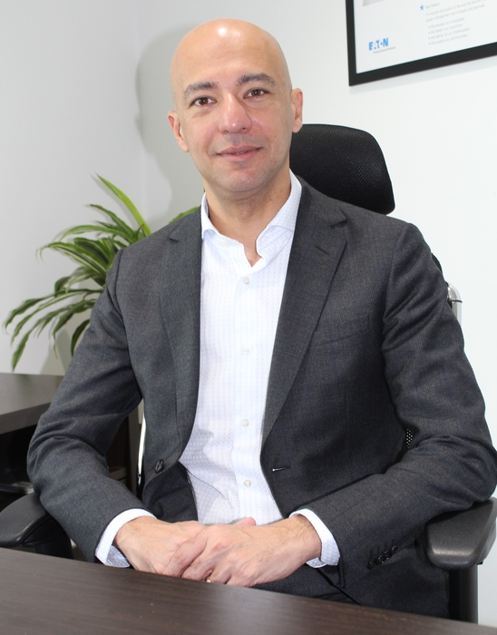 Ashraf Yehia, general manger of Eaton Middle East