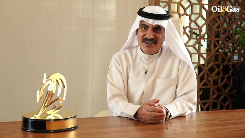 Dragon Oil CEO, Ali Al Jarwan, in the company's Dubai office