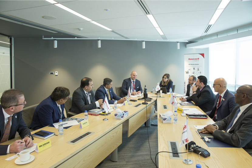 The roundtable brought HSE leaders together at Honeywell's Dubai office to discuss the future of the industry (Continue through the gallery for photos of the participants)