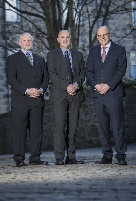 GM Flow directors Victor Gawski, Gavin Munro and Chris Oliver