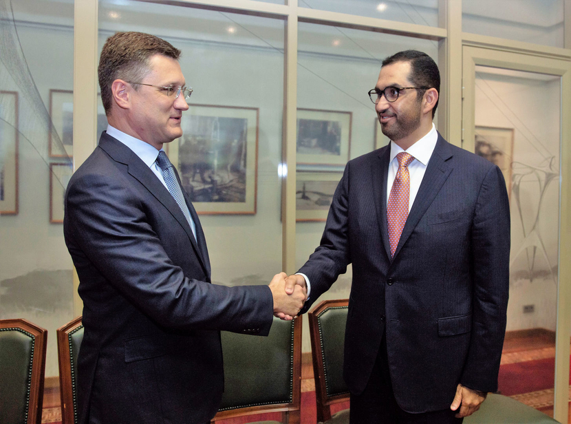 Adnoc group, Sultan al jaber, Alexander novak, OPEC