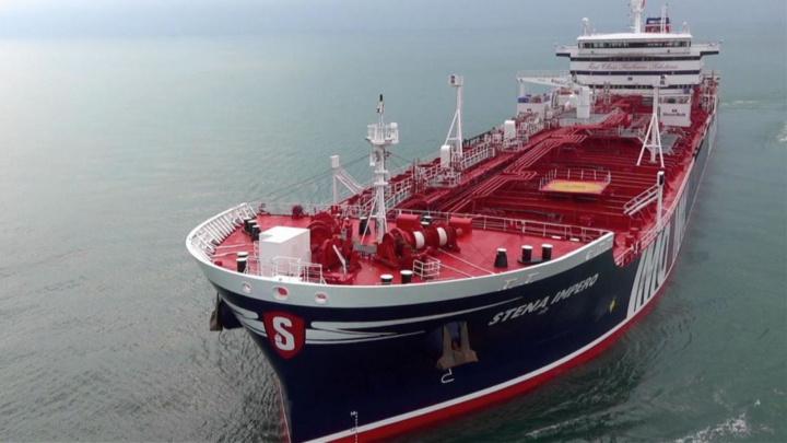 Transportation, Logistics, Oil tanker, Strait of hormuz, Stena impero