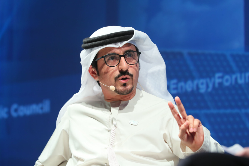 Musabbah Al Kaabi, CEO of Mubadala Investment Company's petroleum and petrochemicals division