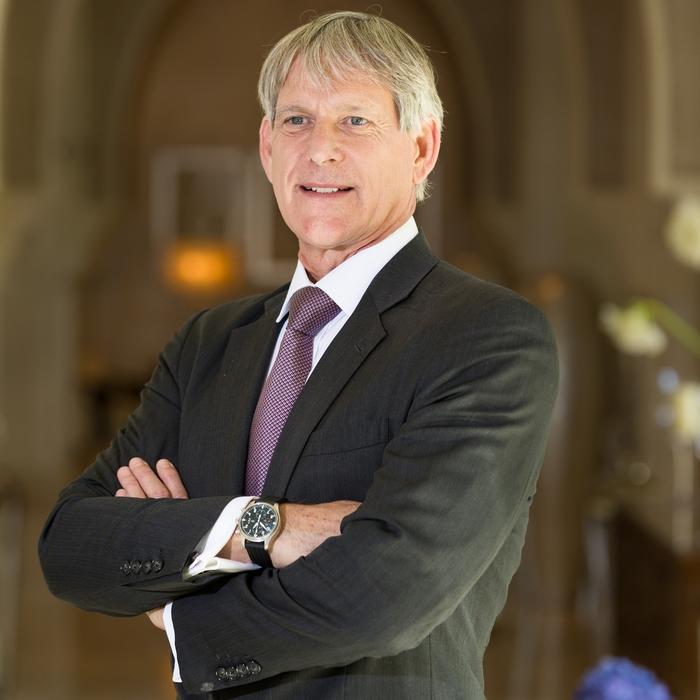 Dr Patrick Allman-Ward, CEO of Dana Gas