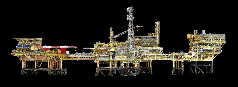 Drone, Inspection, Imaging, Shell, Rig