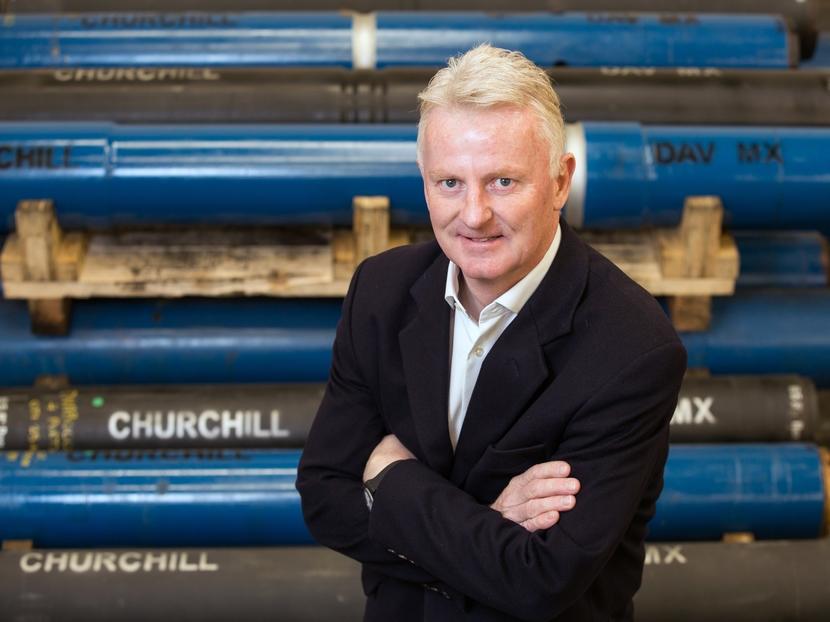 Churchill Drilling Tools' sales director, Stewart Macindoe