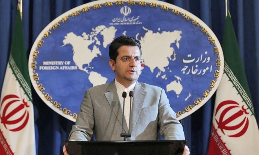 Abbas Mousavi, spokesperson for the Iranian foreign ministry