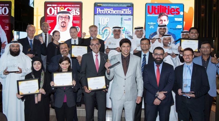 Winners and highly commended celebrate at the Middle East Energy Awards 2019!