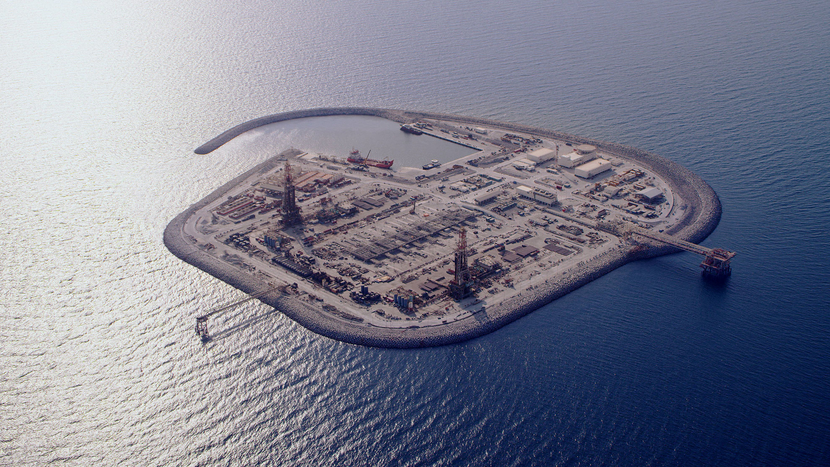 Gallery, Artificial islands, Offshore, ADNOC