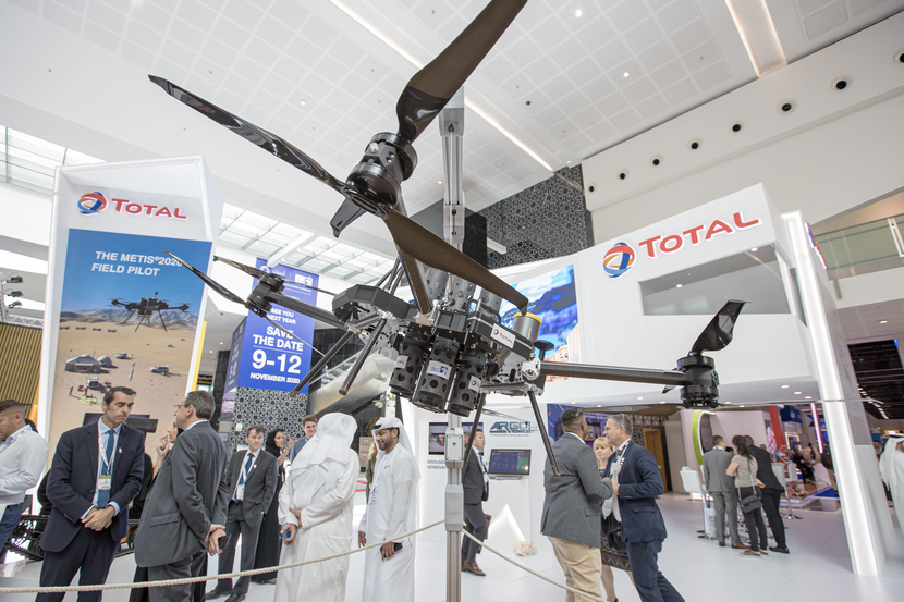 Technology is always on display at ADIPEC, from artificial intelligence products to drones and more
