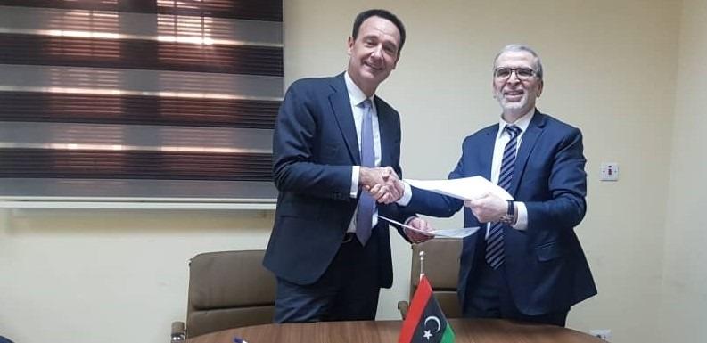 Total, Libya noc, Mustafa Sanalla, Waha concession