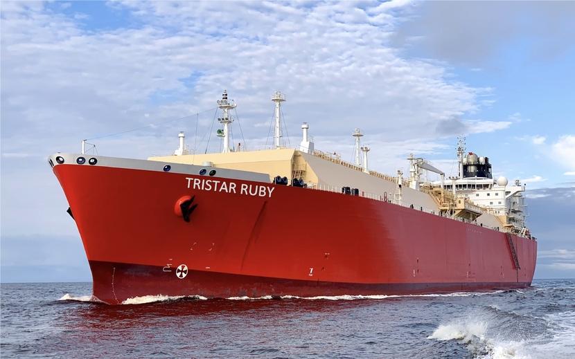 Tristar, Lng, BP, Tristar Ruby, Logistics, Transportation