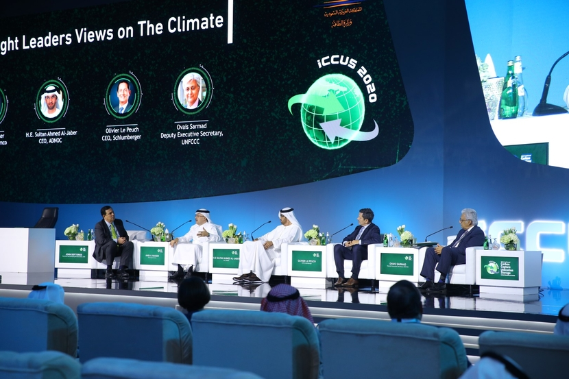 ADNOC, Sultan al jaber, CCUS, Carbon capture, Energy transition, Climate change