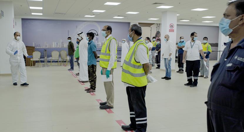 Testing, Abu Dhabi Ports, Coronavirus