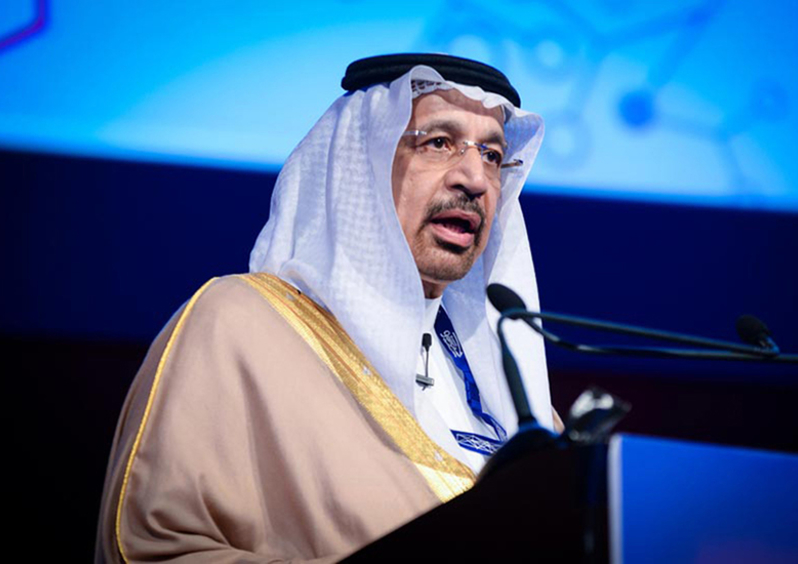 3. Khalid Al-Falih Chairman, Saudi Aramco Minister of Energy, industry and Resources, KSA